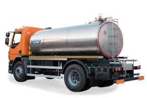 Tank truck for transporting water and washing roads 10m3